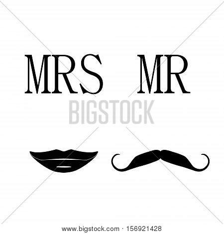 Mrs And Mr Symbols