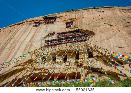 Mati Si Temple, Gansu, China