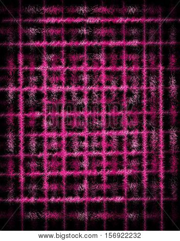 Wool immitated synthetic texture illustration. Pink and violet colors. Background
