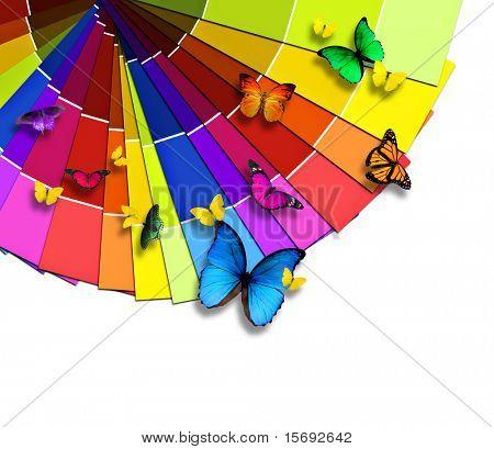 Paleta de cores da natureza