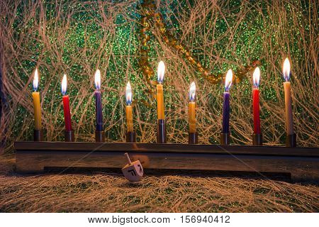 Hanukkah the Jewish Festival of Lights judaic religion