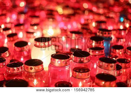 Lampions At Night