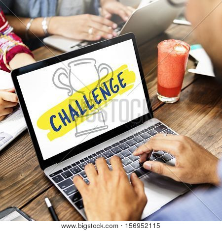 Inspiration Creative Believe Challenge Dreams Concept