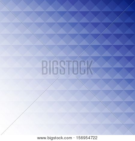 Abstract blue mosaic design background stock vector