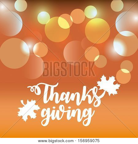 happy thanksgiving card. colorful design. vector illustration