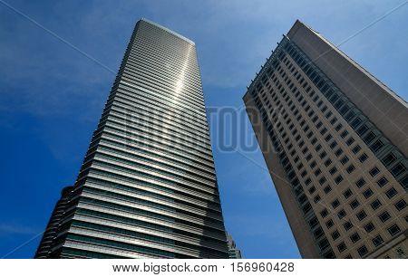 Skyscrapers In Kuala Lumpur