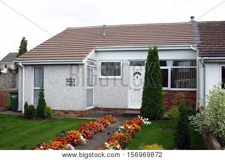 JK Rowling Yate childhood home. Gloucestershire, England.