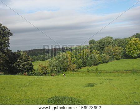 English Country Panorama In Salisbury
