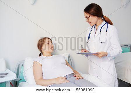 Complaints of patient