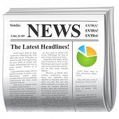 vector  news icon poster