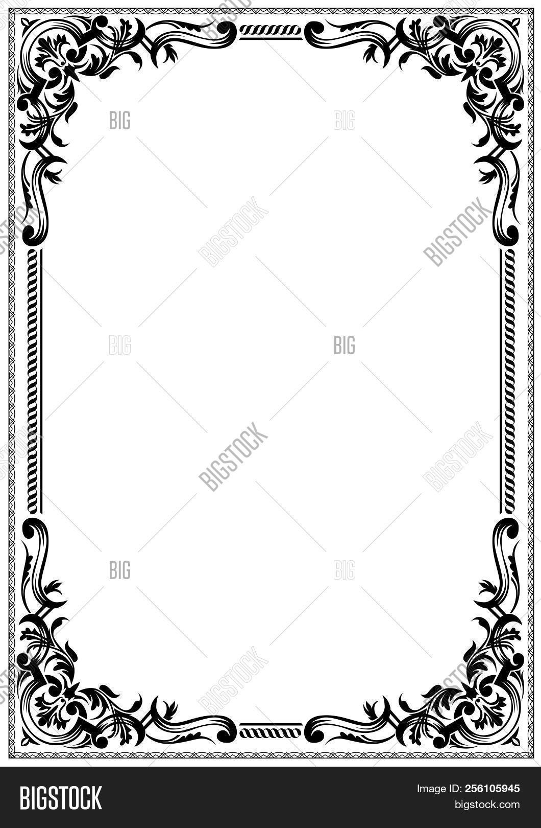 Simple Black White Vector Photo Free Trial Bigstock