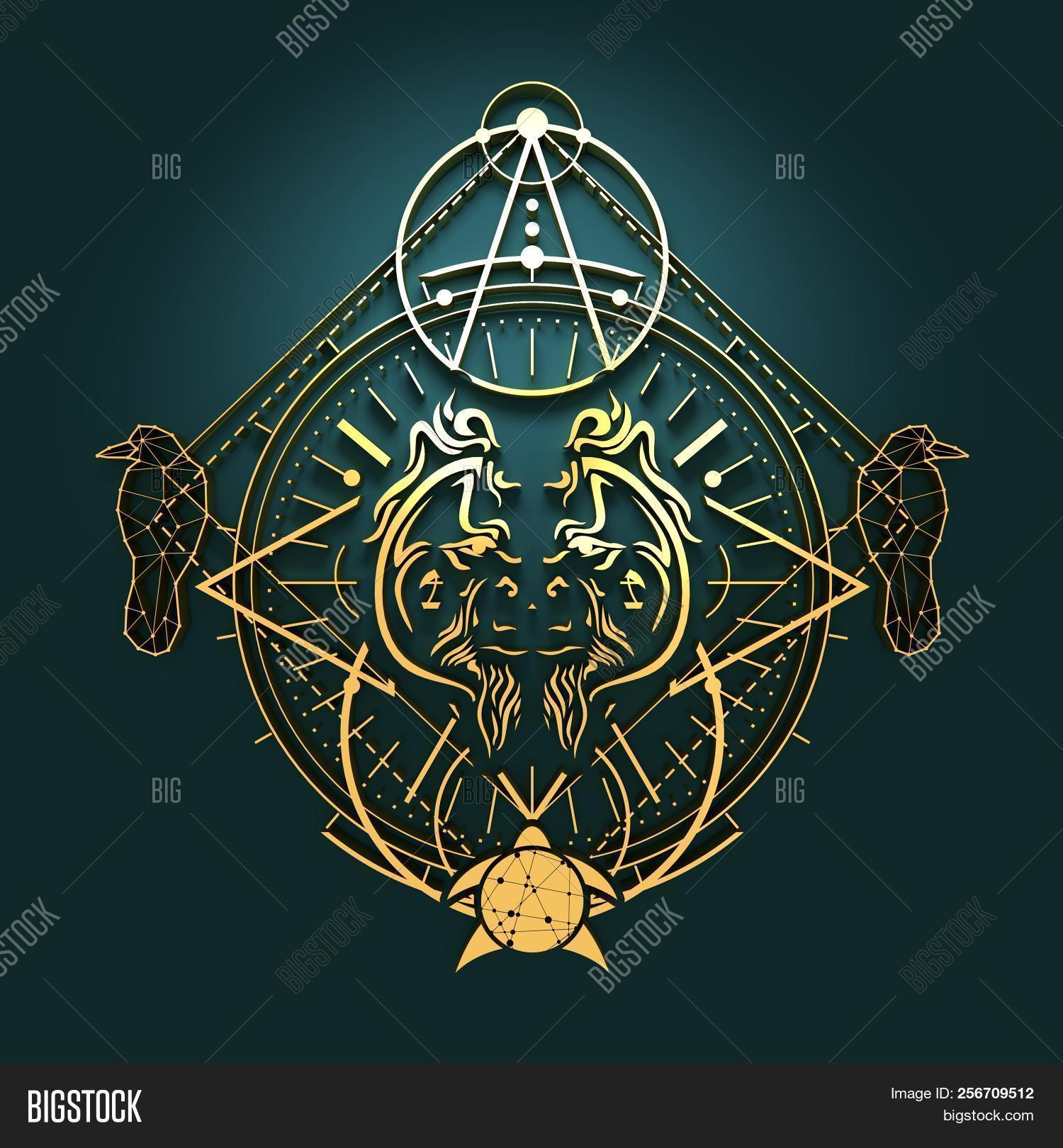 Mystical Symbol Image Photo Free Trial Bigstock