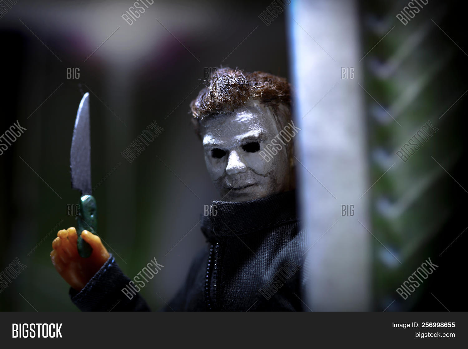 Halloween 2018 Michael Myers Knife.Sept 3 2018 Image Photo Free Trial Bigstock
