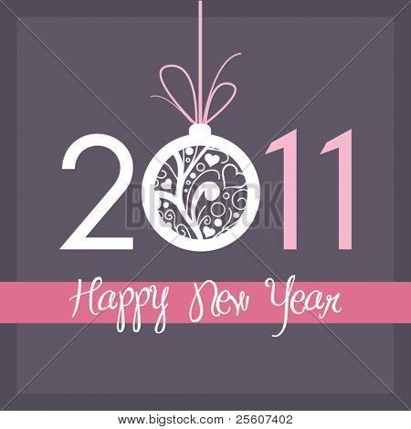 New Year card 2011