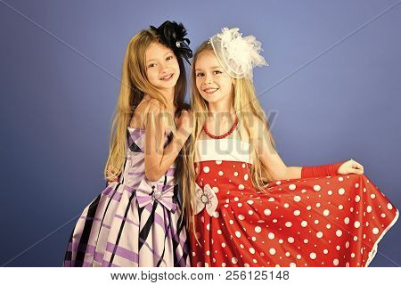 Fashion And Beauty, Little Princess. Friendship, Look, Hairdresser, Wedding. Family Fashion Model Si