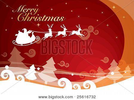warm christmas background