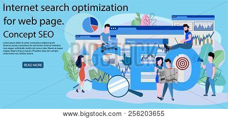 Concept Seo, Market Research Web Site Coding, Internet Search Optimization For Web Page, Banner, Pre