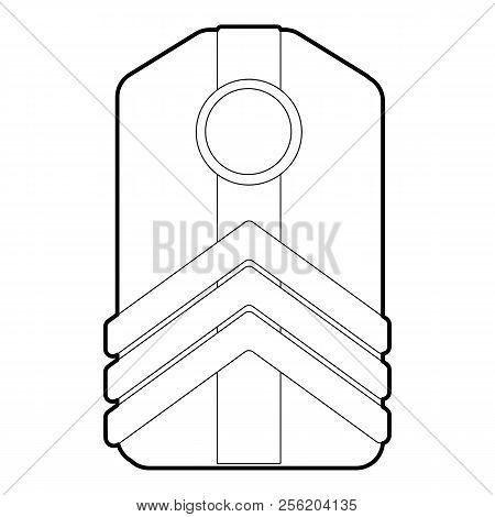 Shoulder Straps Icon. Outline Illustration Of Shoulder Straps Icon For Web