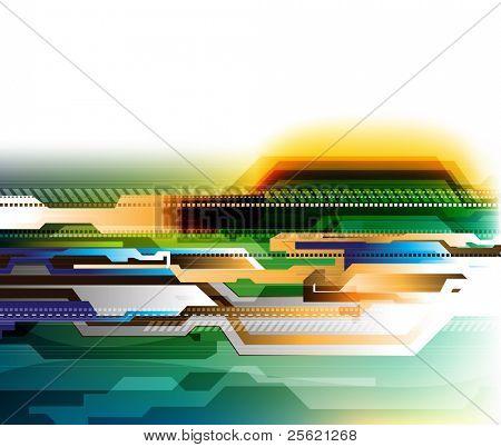 futuristic background