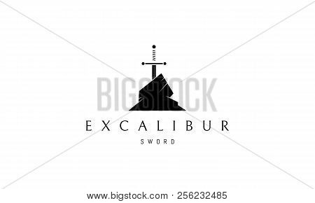 The Logo Depicts The Legendary Sword Of King Arthur The Excalibur, Which According To Legend Was Bou