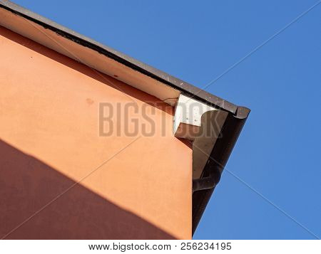 Urban Architecture, Detail Of The Building Cover And Eaves