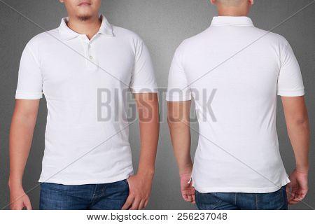 Polo Shirt Template Mock Up