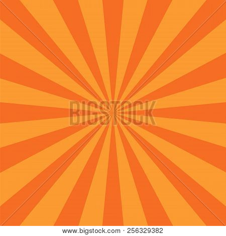 Rays Background. Illustration For Your Bright Beams Design. Sun Ray Theme Abstract Wallpaper. Raster