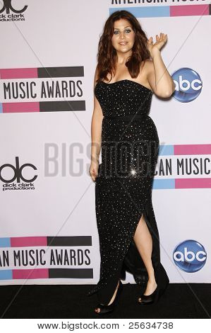 LOS ANGELES - NOV 20: Hillary Scott of Lady Antebellum at the 2011 American Music Awards Press Room held at Nokia Theatre L.A. Live on November 20, 2011 in Los Angeles, California