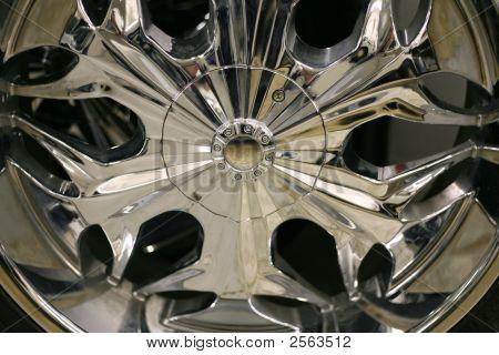 Chrome Auto Wheel