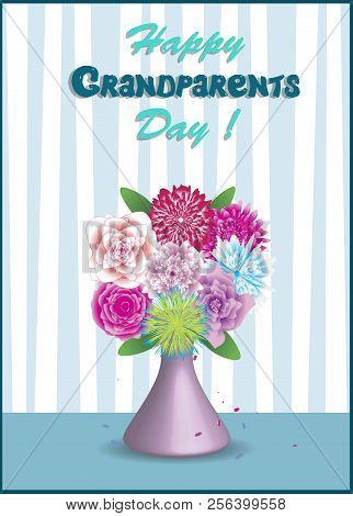 Happy Grandparents Vector Photo Free Trial Bigstock