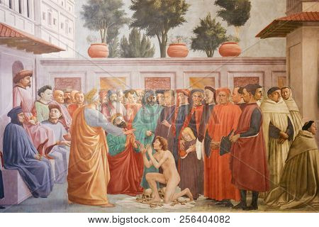 Raising Of The Son Of Theophilus