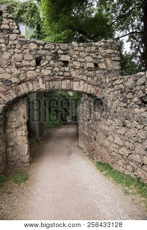 Stone Arch With Road