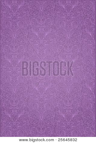 continuous pattern on a purple background