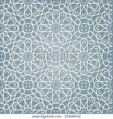 achtergrond met patroon in Arabische stijl