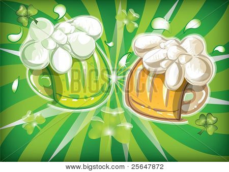 St. Patrick`s day design