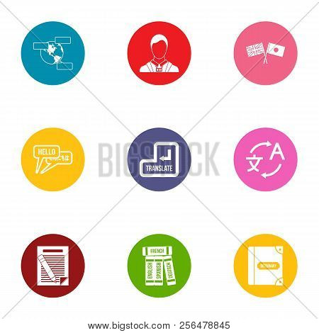 Conversion Icons Set. Flat Set Of 9 Conversion Vector Icons For Web Isolated On White Background