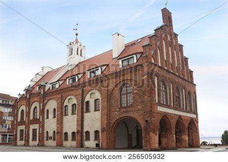 Oldtown in Kamien Pomorski, Poland