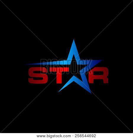 Star Concept Logo, Star Color Vector Logo,star Color Icon, Star Rating, Rank. Star Astrology Symbol.