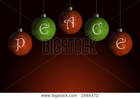 Peace Ornaments
