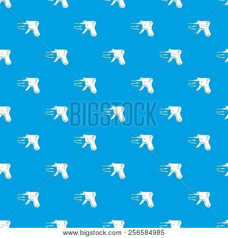 Code Reader Pattern Seamless Blue Repeat For Any Use