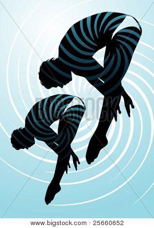 Sport set: Synchronized diving