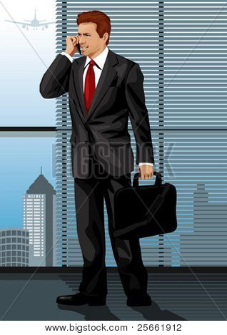 Profession set: confident manager (more high quality vectors in our portfolio)