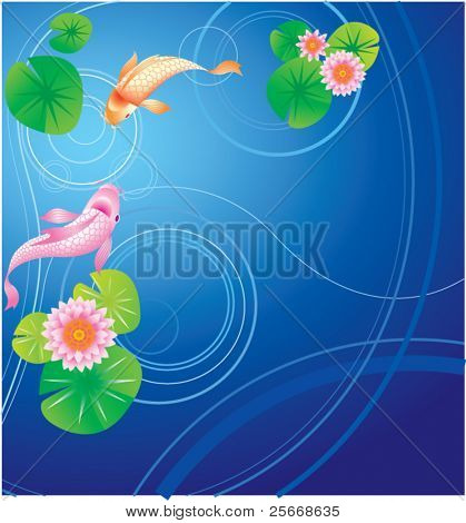 Fish and Lotus