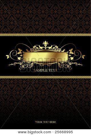 golden vintage cover