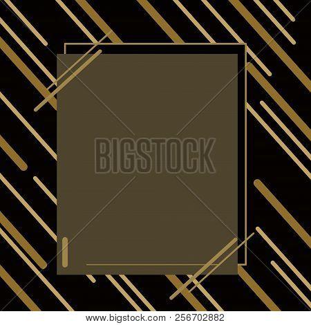 Graphic Color Gold And Black Background,or Line Gold On Black Background.jpg.