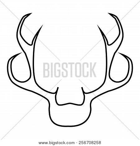 Deer Antler Icon Image Photo Free Trial Bigstock