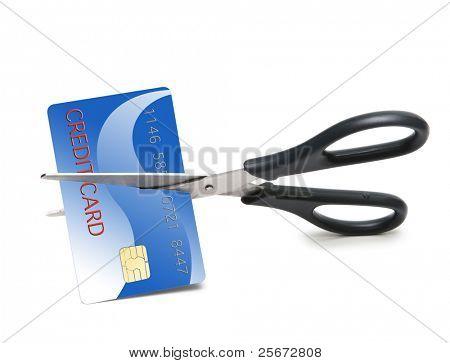credit card cutting