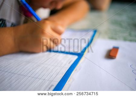 Studing Human Writing Writing In A Notebook