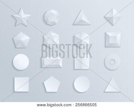 3d shapes template vector photo free trial bigstock