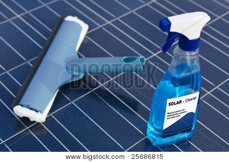 Solar Cells And Detergent  - English